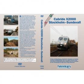 Teknikarv TAM48 Cabride X2000 Stockholm ? Sundsvall, DVD
