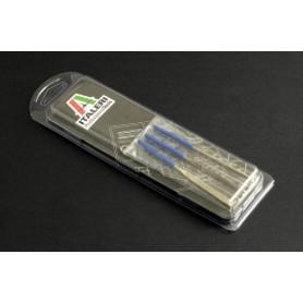 Italeri 50820 Filsset, 3 st (100 mm) långa