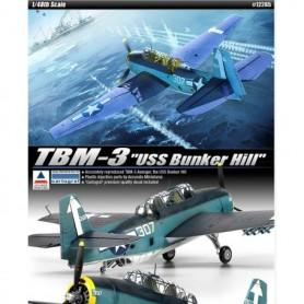 "Academy 12285 Flygplan TBM-3 ""USS Bunker Hill"""