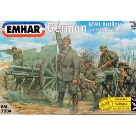 Emhar 7204 Figurer German WWI Artillery