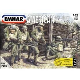 "Emhar 7209 Figurer American WW1 Infantry ""Doughboys"""