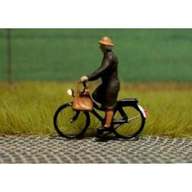 """Bicyc Led 228033 Cykel med belysning """"Äldre kvinna på cykeltur"""""""