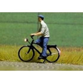 """Bicyc Led 228034 Cykel med belysning """"Herre på cykeltur"""""""