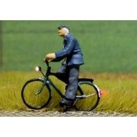 """Bicyc Led 228035 Cykel med belysning """"Herre på cykeltur"""""""