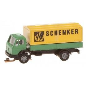 "Faller 162051 Lastbil Mercedes Benz SK ""Schenker"""