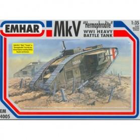 "Emhar 4005 Mk WWI Heavy Battle Tank ""Hermaphrodite"""