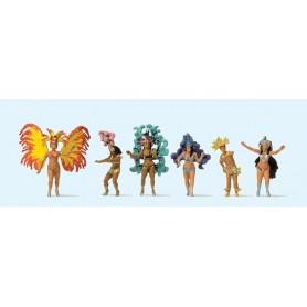 """Preiser 24625 Dansare """"Samba"""", 6 st"""