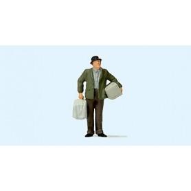 Preiser 28160 Man med fågelbur, 1 st