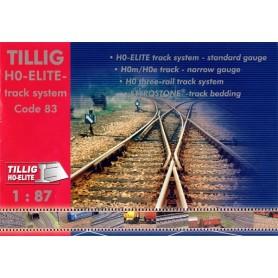Media KAT152 Tillig Katalog för H0 Elite-rälssystem Code 83