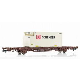 "NMJ 611112 Containervagn SJ Lgjs ""DB Schenker"""