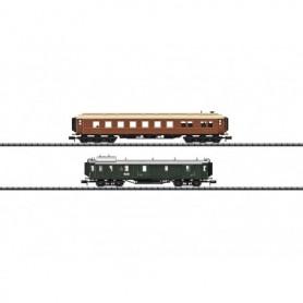 """Trix 15967 Vagnsset med 2 st personvagnar """"Bavarian Express"""" typ DRG"""