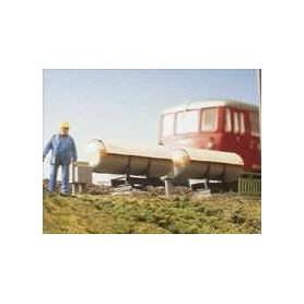 Brawa 2653 Växelvärmare, längd 90 mm