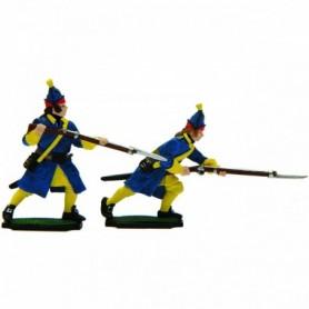 Prince August 916 Karoliner, grenadjärer 2 st