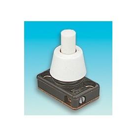 Brawa 3524 Tryck-knapp, 2 Ampere 250V (VDE), mått bas 22,5 x 15 mm