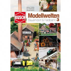 "Busch 999813 Landskapskatalog med byggtips ""Natur Pure - The Best Modeling Techniques - nr 3."""