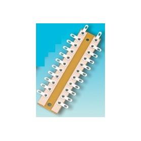 Brawa 3915 Kopplingsplint för lödning, 10 anslutningar, 72 mm längd