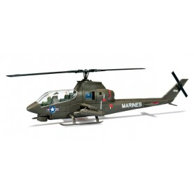 Herpa 744508 Construction kit Bell AH-1 Coobra combat helicopter US army