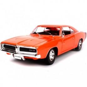Maisto 31387.1 Dodge Charger R/T 1969, orange