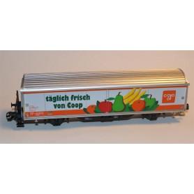 """Märklin 4735.94705 Godsvagn Hblls-vy typ SBB/CFF """"täglich Frisch von coop"""""""