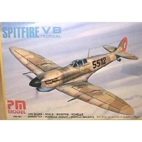 PM Model 101 Flygplan Supermarine Spitfire VB Tropical