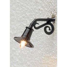 Brawa 5358 Vägglampa för fabriker m.m., 1 st, mått 13 x 15 mm