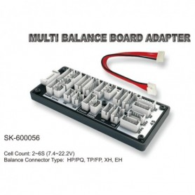 SkyRC SK600056 Balanseringskort Multi HP/PQ, TP/FP, XH, EH, 1 st