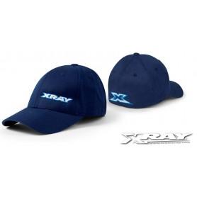 """XRay 396903 Keps """"XRay"""" Flexfit Cap, blå. Storlek (L-XL)"""