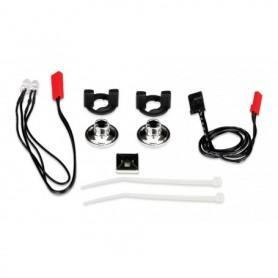 Traxxas 3686 Belysningssats för Grave Digger, LED lampor, 2 st röda med kablage, 1 set