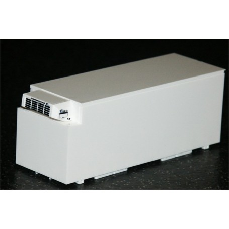 AMW 90617 Container Skåp Kylaggregat Växelflak 7,15, vit, omärkt