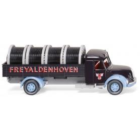 "Wiking 85507 Flatbed truck (Magirus S 7500) ""FREYALDENHOVEN"""