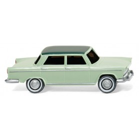 Wiking 09002 Fiat 1800, white green w. moss green roof, 1962