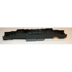 Hobby Trade 99933 Chassie, svart, Hobby Trades TMZ, med mörkgråa tankar på undersidan, med koppelarm/ficka och fjäder klart m...