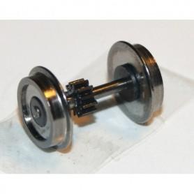 Hobby Trade 99943 Drivaxel, DC, med kugghjul, utan slirskydd, 11.4 mm, axellängd 20 mm