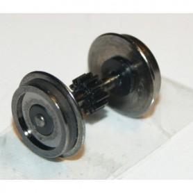 Hobby Trade 99944 Drivaxel, DC, med kugghjul, med slirskydd på ena sidan, 11.4 mm, axellängd 20 mm