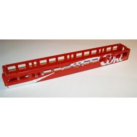 """Tåg & Hobby COKE Vagnskorg utan några tillbehör """"Coke - Trink Coca Cola"""" 2:a klass"""