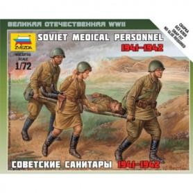 Zvezda 6152 Figurer Soviet Medical Personnel 1941-1942