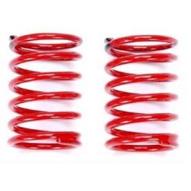 Traxxas 7148 Stötdämparfjäder GTR, 2.22, black, röda, 1 par