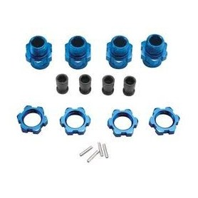 Traxxas 6856X Hjulnav adapterset 17 mm, 1 set