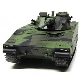 Panzerfux 87001 Tanks CV9040B Swedish Combat Vehicle, byggsats i resin med metallrör