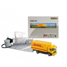 "Faller 161607 Startset ""Faller Car System"" med Lorry MAN F2000 evo ""DHL"""
