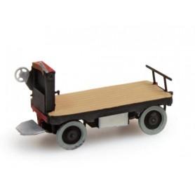 Artitec 38731BK Elektriskt baggagekärra, svart