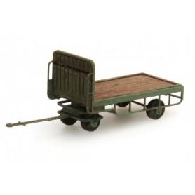 Artitec 38732GN Baggagekärra, grön