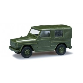 Herpa 700634 Peugeot P 4 VLTT with canvas, bronze gree (F)