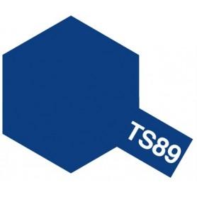 """Tamiya 85089 Sprayfärg TS-89 """"Pearl Blue"""", innehåller 100 ml"""