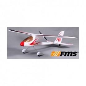 FMS 064RTF Flygplan Red Dragonfly 900mm RTF 2.4G