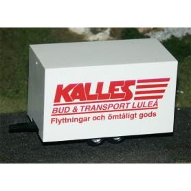 "AHM AH-224 Volymtrailer ""Kalles Bud & Transport Luleå"""