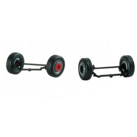 Herpa 053303 Steering gear parts for Medi rigid tractors (4 axels)