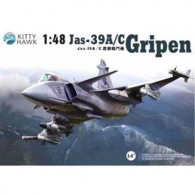 Kitty Hawk 80117 Flygplan JAS 39 A/C Gripen