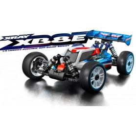XRay 350154 XRAY XB8E 2017 1/8 El-Buggy