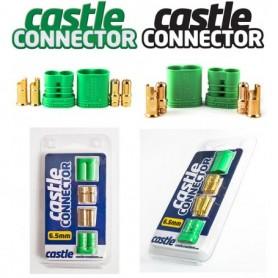 "Castle 011005300 Castle Kontakter ""Castle Connector"" 6.5 mm bullet, 1 par"